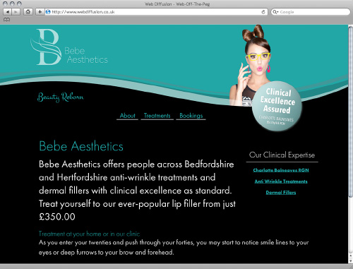 Web diffusion exclusive web design templates by subomic limited bedfordshire botox clinic web diffusion website design solutioingenieria Images